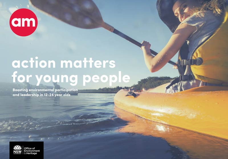 Action Matters for young people - document cover